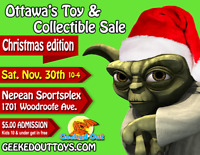 Geeked Out Toy & Collectible Sale