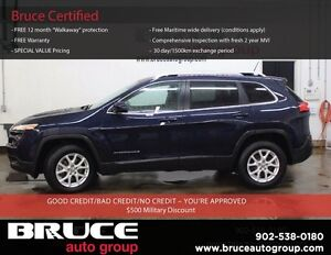 2015 Jeep Cherokee 2.5L 4 CYL AUTOMATIC 4X4 NORTH EDITION SATELL