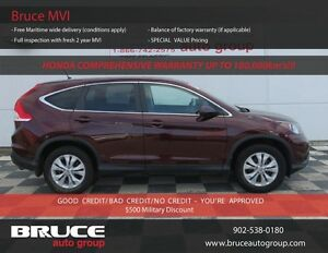 2014 Honda CR-V EX 2.4L 4 CYL i-VTEC AUTOMATIC AWD FACTORY WARRA