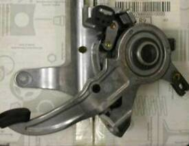Mercedes class parking brake mechanism