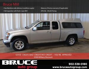 2010 Chevrolet Colorado LT 2.9L 4 CYL AUTOMATIC RWD EXTENDED CAB