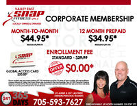 Valley East Snap Fitness offers Corporate Memberships!