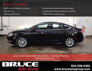 2015 Chrysler 200 C 3.6L 6 CYL AUTOMATIC FWD 4D SEDAN LEATHER IN