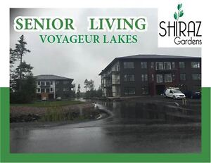 BRAND NEW  23 unit building at Voyageur Lakes only for 55plus