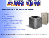 Heating, Venting, Air Conditioning, Refrigeration & Electrical