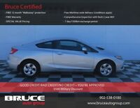 2013 Honda Civic Cpe LX 1.8L 4CYL FWD Motor Trend gives Civic hi