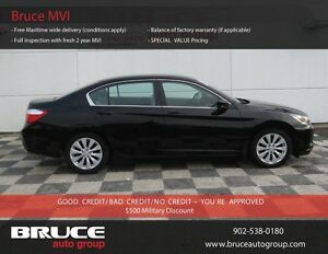 2013 Honda Accord LX 2.4L 4 CYL I-VTEC CVT FWD 4D SEDAN HEATED S