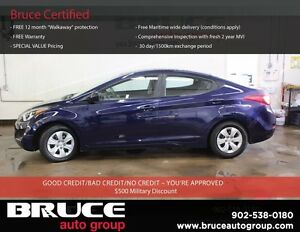2014 Hyundai Elantra GL 1.8L 4 CYL 6 SPD MANUAL FWD 4D SEDAN ALL