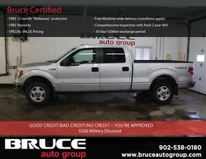 2014 Ford F-150 XLT 3.5L 6 CYL AUTOMATIC 4X4 SUPERCREW SATELLITE