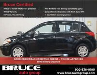 2011 Nissan Versa Hatchback LOW KMS, CLEAN AND WELL MAINTAINED