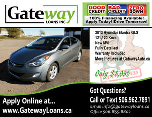 2013 Hyundai Elantra GLS - Loaded - New MVI - We Finance