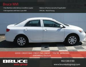2011 Toyota Corolla CE 1.8L 4 CYL AUTOMATIC FWD 4D SEDAN