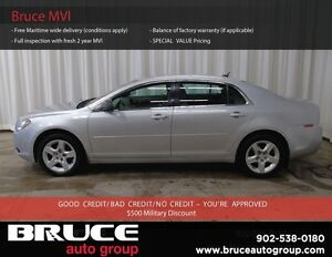 2010 Chevrolet Malibu LS 2.4L 4 CYL AUTOMATIC FWD 4D SEDAN SATEL