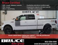 2013 Ford F-150 FX4 3.5L 6CYL 4WD ECO-BOOST POWERFUL!! EASY FINA