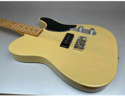 Fender Noventa TELECASTER MN Vbl Vintage Rubia Guitarra Eléctrica P90 Pastilla