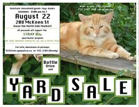 Stray Bits Yard Sale and Bottle Drive