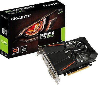 Gigabyte GeForce GTX 1050 D5 2G,2GB GDDR5, DVI,HDMI,DisplayPort (GV-N1050D5-2GD)