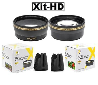 Wide Angle Telephoto Lens For Sony Hdr-pj710v Hdr-cx760v ...
