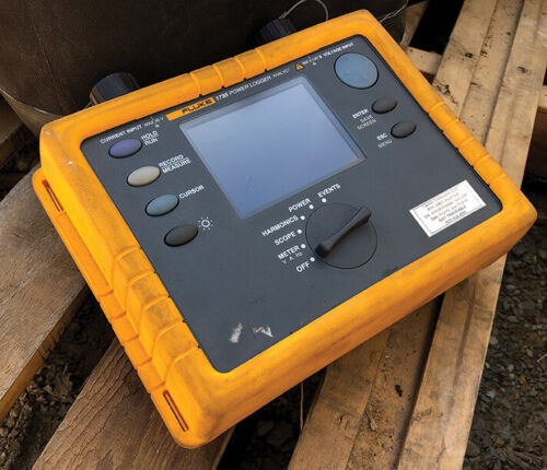 Fluke 1735 - 3-Phase Power Quality Logger