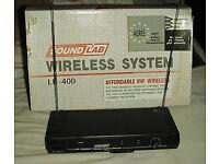 Radio mictrophone lapel belt pack type
