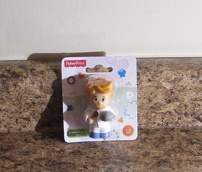 Fisher Price Little People Chef 3 Inch Figure NEW