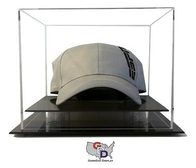 (Counter or Desk Top Hat or Cap Display Case by GameDay Display Made in the USA)
