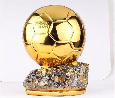 World Cup Ballon D'OR Football trophy Best Player Awards Golden ball