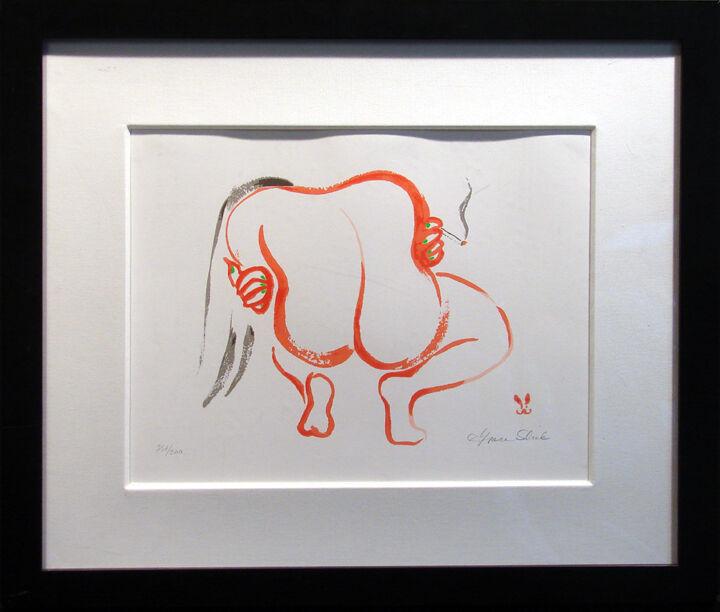 Grace Slick Waiting Giclee On Paper  H.signed Fine Art Custom Framed L@@k