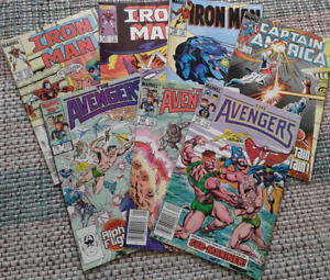 Assorted Marvel comics from the 80s (8 total)