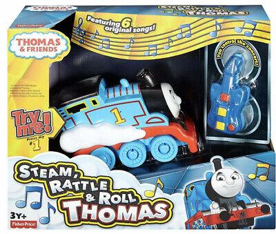 Thomas the train Steam rattle and Roll Rare NIB Remote Control Train Toy