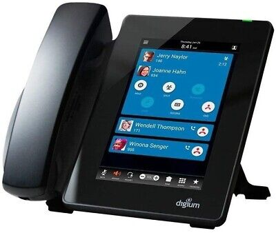Digium D80 Ip Phone With Hd Voice Gigabit 7.0 Inch Colored Display 1teld080lf