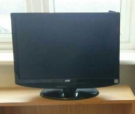 HD ready TV 17'' (HDMI, no sound).