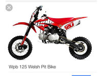 125 Welsh pitbike ***quick swap or sale***
