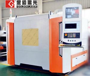 GF-1510 full cover sheet fiber laser cutting machine 1500*1000mm