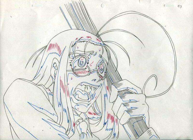 Anime Douga not Cel Hellsing #12
