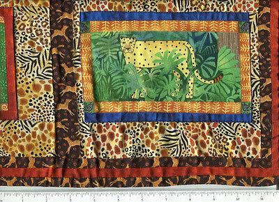 Одеяло quilt shop sample ~ JUNGLE