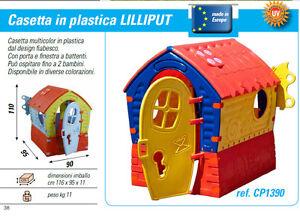 Casetta per bambini casa delle favole da giardino in for Casetta in plastica per bambini usata