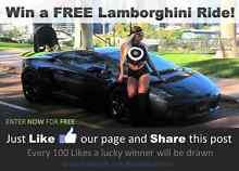 Win a Free Lamborghini Ride! Scarborough Stirling Area Preview