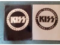 Kiss - Official Souvenir Tour Programmes from 1996/97 World Tour (inc rare Silver edition)