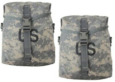US MILITARY SUSTAINMENT POUCHES MOLLE II ACU - 2 PACK
