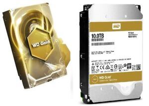 Brand New Western Digital Gold 10TB Datacenter Hard Disk Drive
