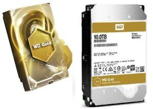 Brand New Western Digital Gold 10TB Datacenter Hard Disk Drive