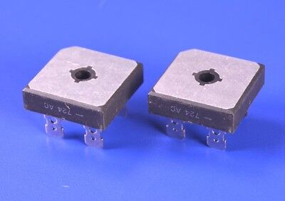2 Two Diodes Inc. 100v 50a Full-wave Rectifier Bridge Pn Gbpc1501