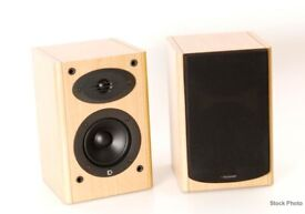 Celestion F1 Stereo HiFi speakers. Stand mount or bookshelf. Rear ported. Bi wire. Like F10