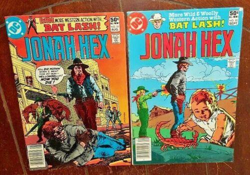 Jonah Hex #51 & #52, (1981, DC): Free Shipping!