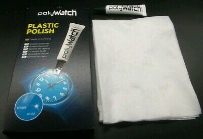 FullSet Polywatch Scratch Removal Plastic Acrylic Watch Repair Glasses Crystals