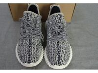 Adidas Yeezy 350 Boost Turtle Dove, Pirate Black Top Quality Version