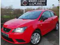2013 (62) SEAT IBIZA S 1.2 A/C 3DR - 2 OWNERS - LOW MILES - FULL S/HISTORY - A/C