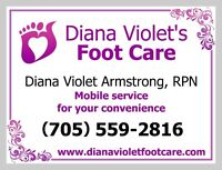 Mobile Foot Care Nurse