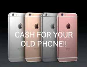 I pay cash for your iPhone/Samsung